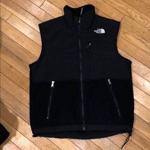 North face fleece vest jacket tops shirt sweater